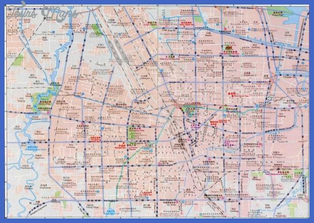 zhengzhou map tourist attractions  4 Zhengzhou Map Tourist Attractions
