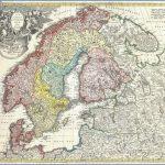 1730 homann map of scandinavia norway sweden denmark finland and the baltics   geographicus   scandinavia homann 1730 150x150 Scandinavia Map