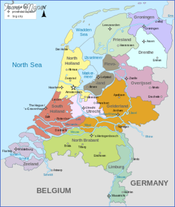 300px netherlands map 28without islands29 svg THE NETHERLANDS