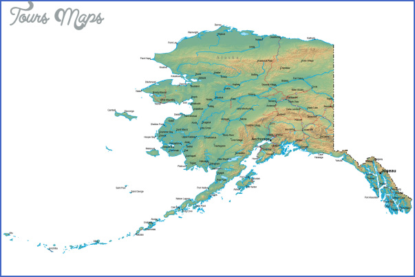 alaska map Alaska Map