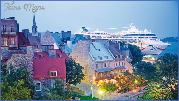 cruises slidet Quebec City