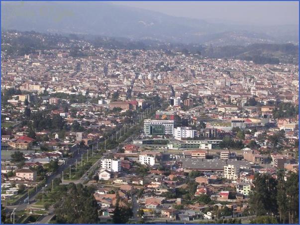 cuenca skyline ECUADOR