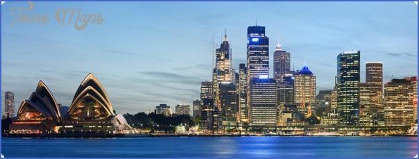 dest sydney AUSTRALIA AND NEW ZEALAND