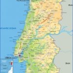 detailed physical map of portugal with all roads cities and airports 150x150 Portugal Map