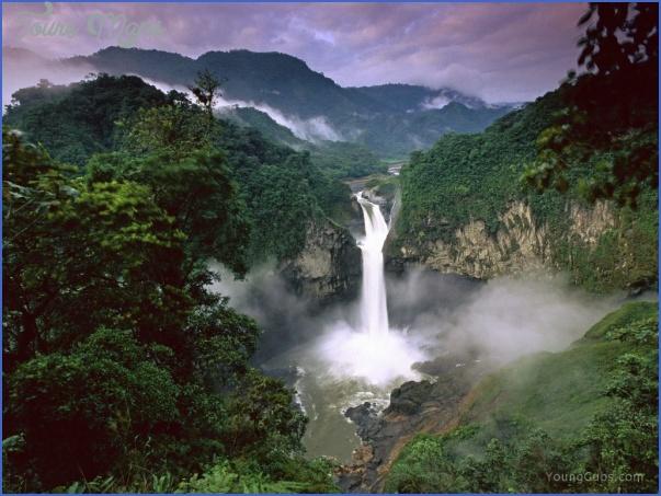 ecuador falls ECUADOR