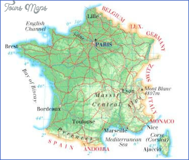 france map France Map Tourist Attractions
