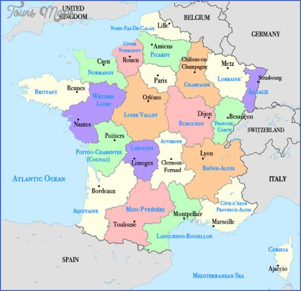 francemap France Map