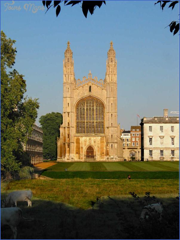 kings college chapel chapel cambridge uk 5 King's College Chapel CHAPEL  CAMBRIDGE, UK
