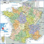 large detailed political and administrative map of france with all roads cities and airports 150x150 France Map