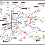 madrid metro map mappa madrid large 150x150 Spain Subway Map