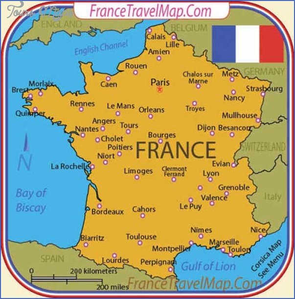 Major Tourist Cities In France Tourist attraction in france sights