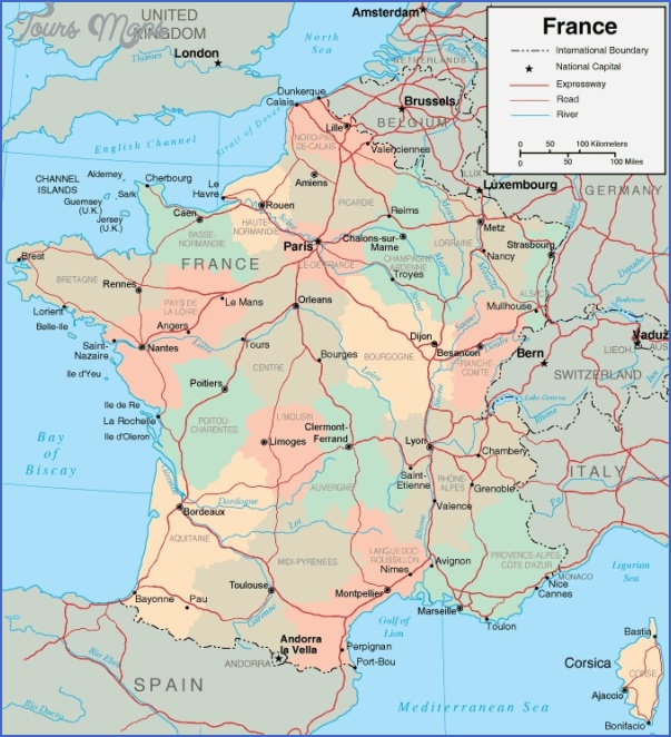 map of france France Map