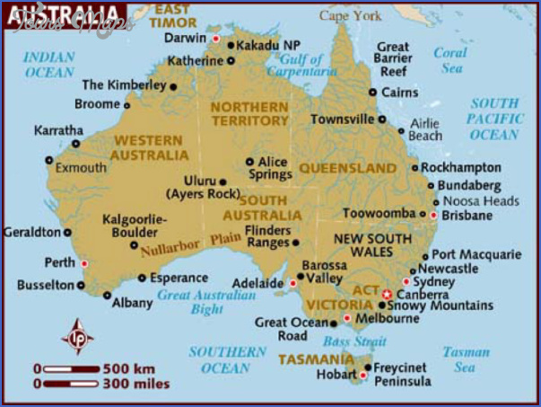 map of australia Australia Map
