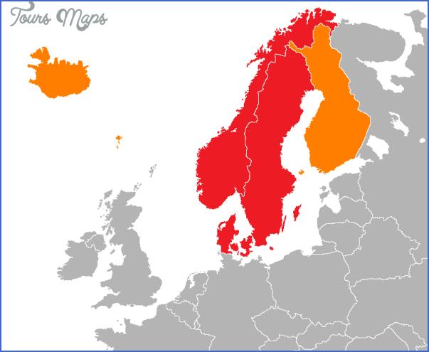 map of scandinavia Scandinavia Map