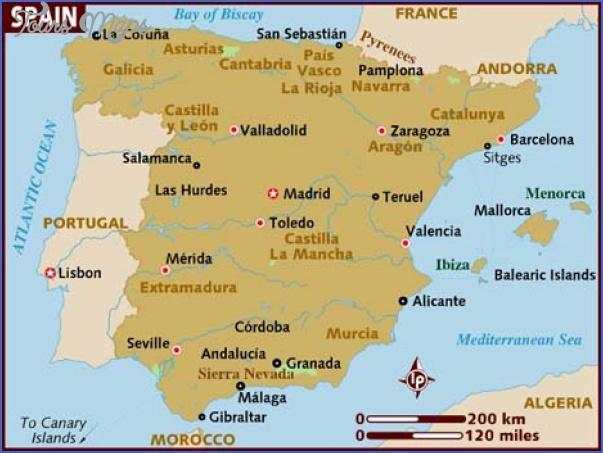 map of spain Spain Map