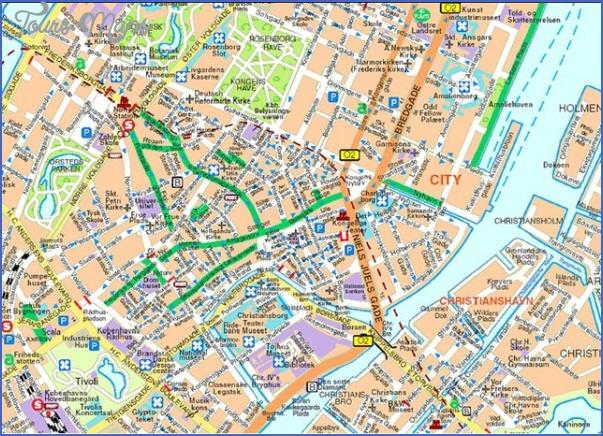 mapofcopenhagen Scandinavia Map Tourist Attractions