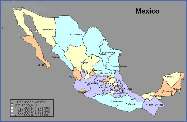mexico cities11 Mexico City Map