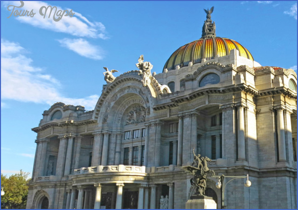 mexicocity palacioartes 1 Mexico City Vacations