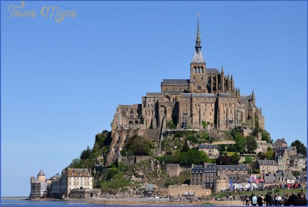 mont st michel France Guide for Tourist