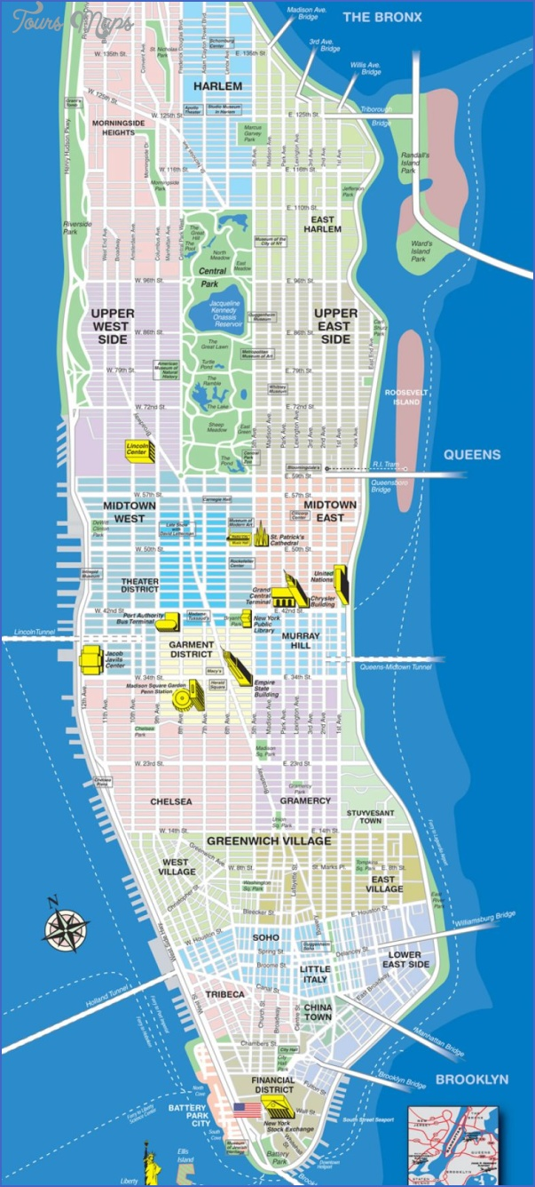 new york city map neighborhoods 7 New York city map neighborhoods