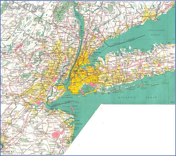 new york map of cities 15 New York map of cities