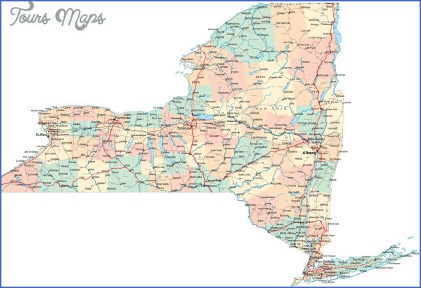 new york map of cities 5 New York map of cities