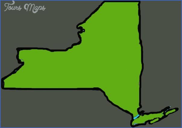 new york map outline  28 New York map outline