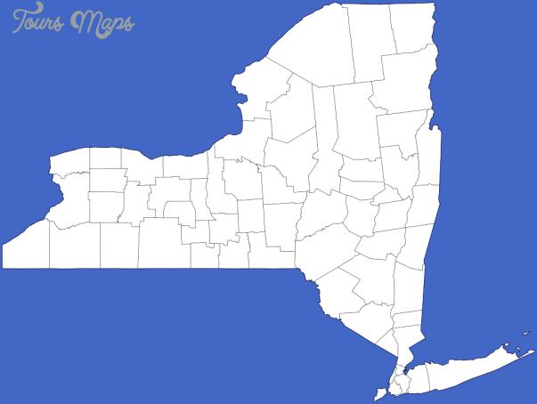 new york map outline  8 New York map outline