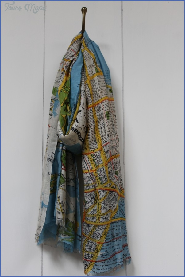 new york map scarf 14 New York map scarf