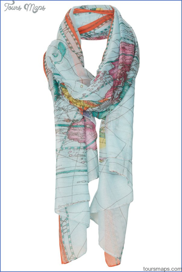 new york map scarf 24 New York map scarf