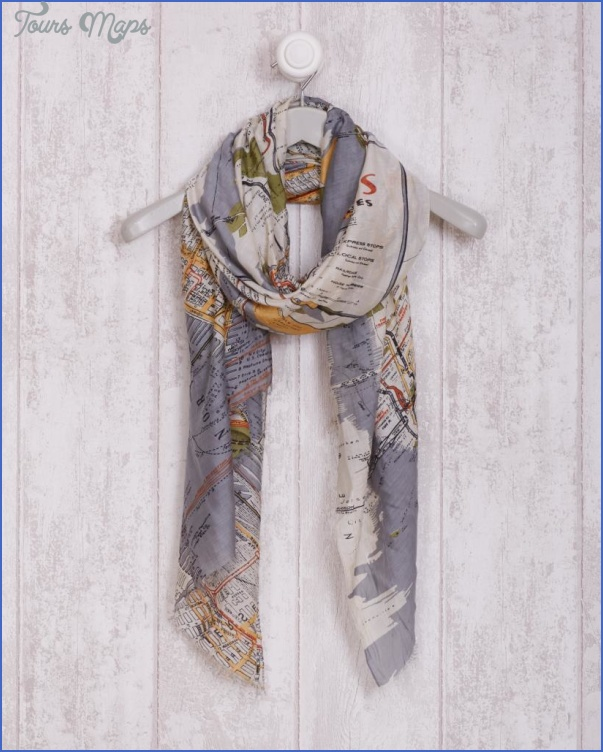 new york map scarf 26 New York map scarf