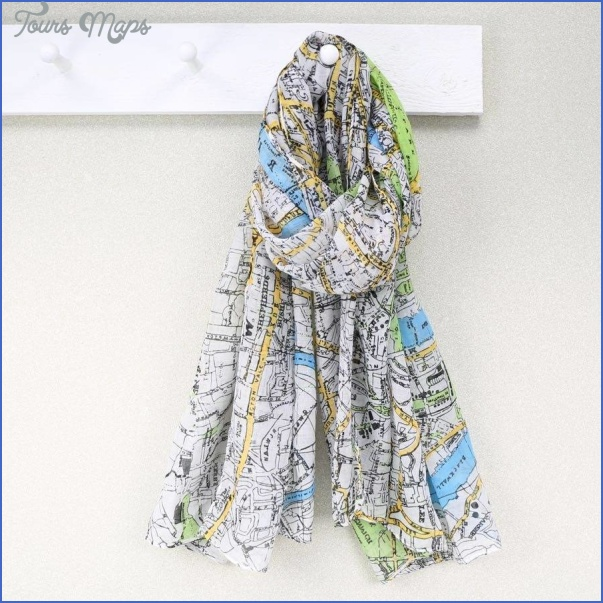 new york map scarf 28 New York map scarf