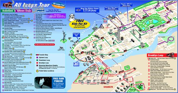 new york map tourist 0 New York map tourist