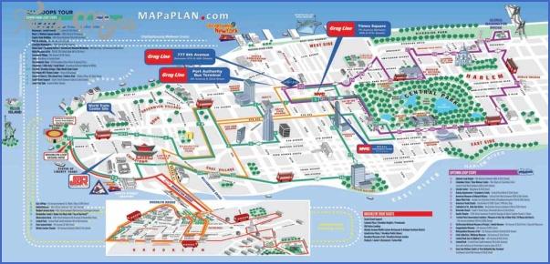 new york map tourist 3 New York map tourist