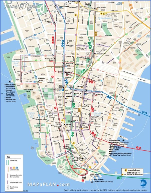new york map tourist 6 New York map tourist