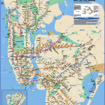 new york map train  2 150x150 New York map train