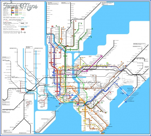 new york map train  3 New York map train