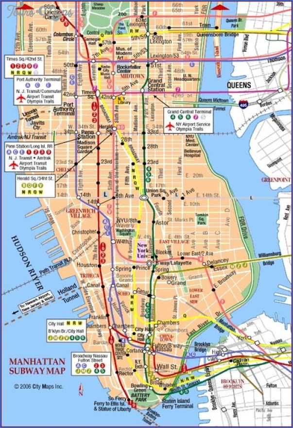 new york map uptown 1 New York map uptown