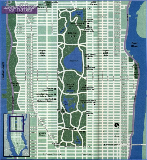 new york map uptown 3 New York map uptown