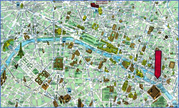 paris france tourist map 4jpg