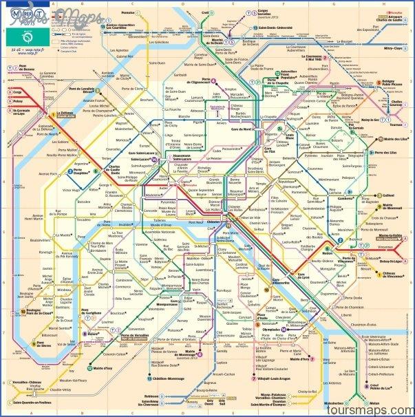 Paris Metro Map Zones Archives Toursmaps Com