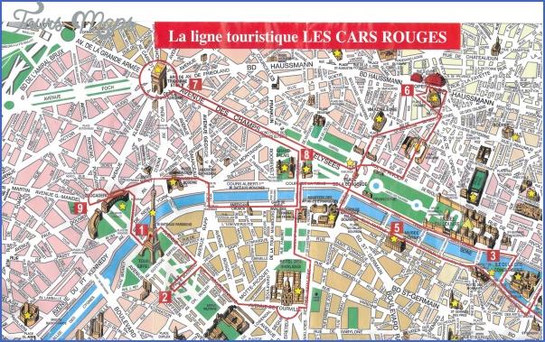 paris tourist map France Map Tourist Attractions