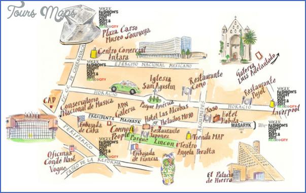 polencomexico city map mediumthumb Mexico City Map