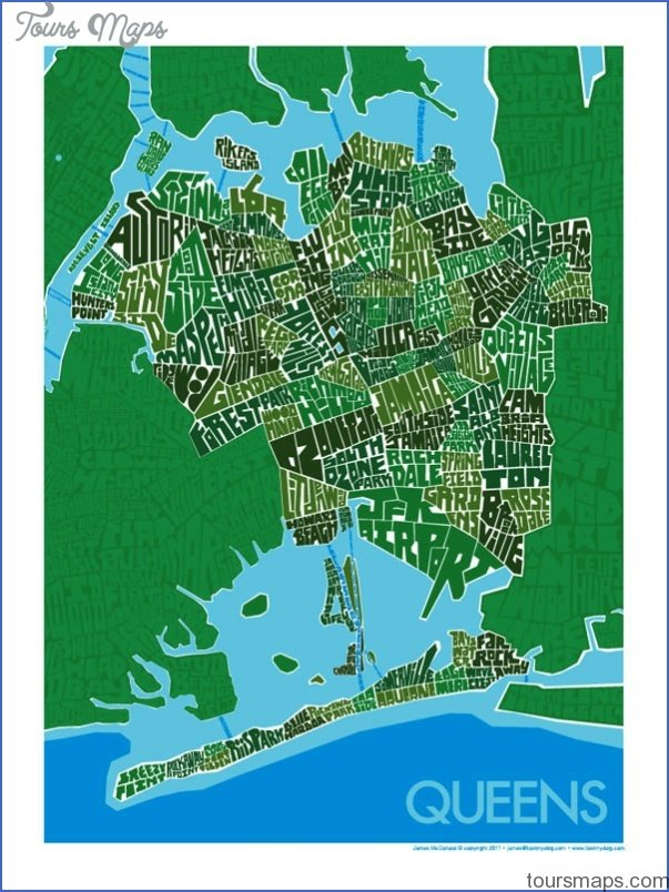 queens new york map neighborhood 41 Queens New York map neighborhood