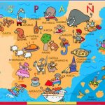 spain map ecard showing touristic places 150x150 Spain Map Tourist Attractions