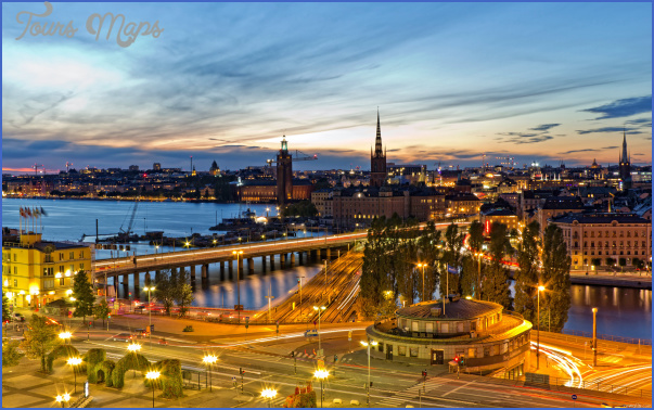 stockholm sweden evening wide SWEDEN