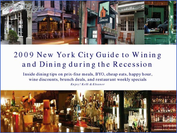 wining and dining in new york  4 Wining and Dining in New York