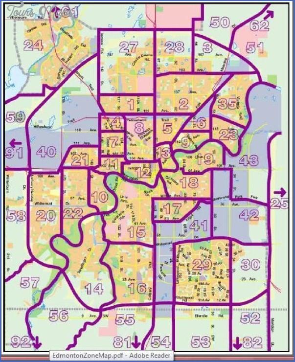 boyle edmonton map 2 Boyle Edmonton Map