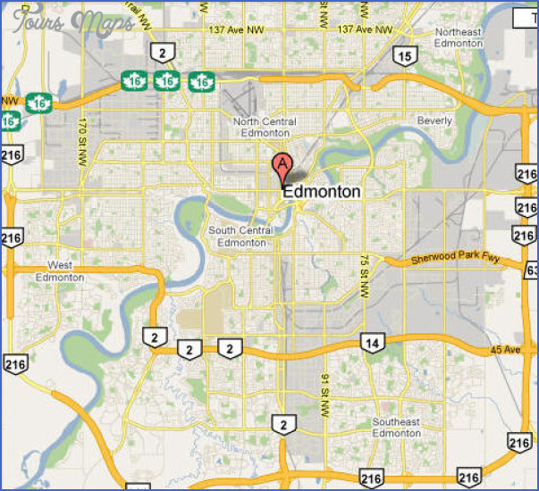 edmonton google map EDMONTON
