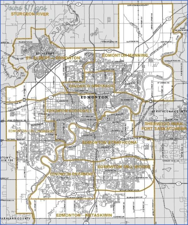 edmonton map 1 EDMONTON